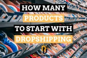 How many products to start with Dropshipping