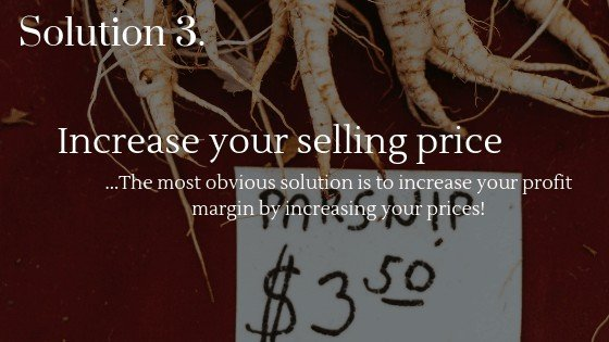 Increase Your Dropshipping Profits Solution 3: Increase the selling price of your products