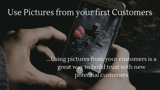Product Images for Dropshipping Store: Use pictures from your first customers