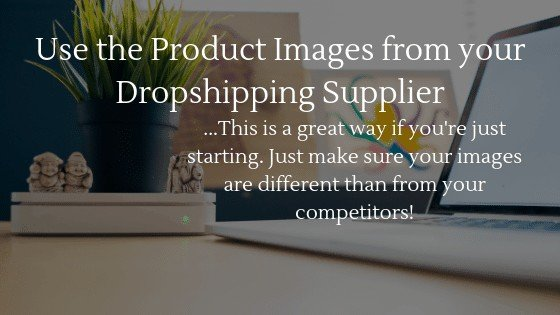 product images for dropshipping