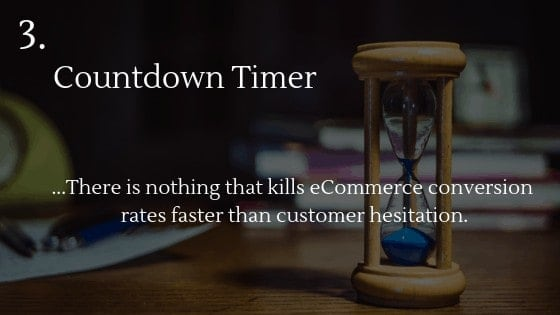Best Shopify app for dropshipping beginners 3: Countdown Timer
