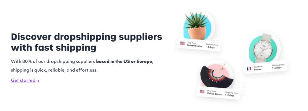 Spocket supplier locations