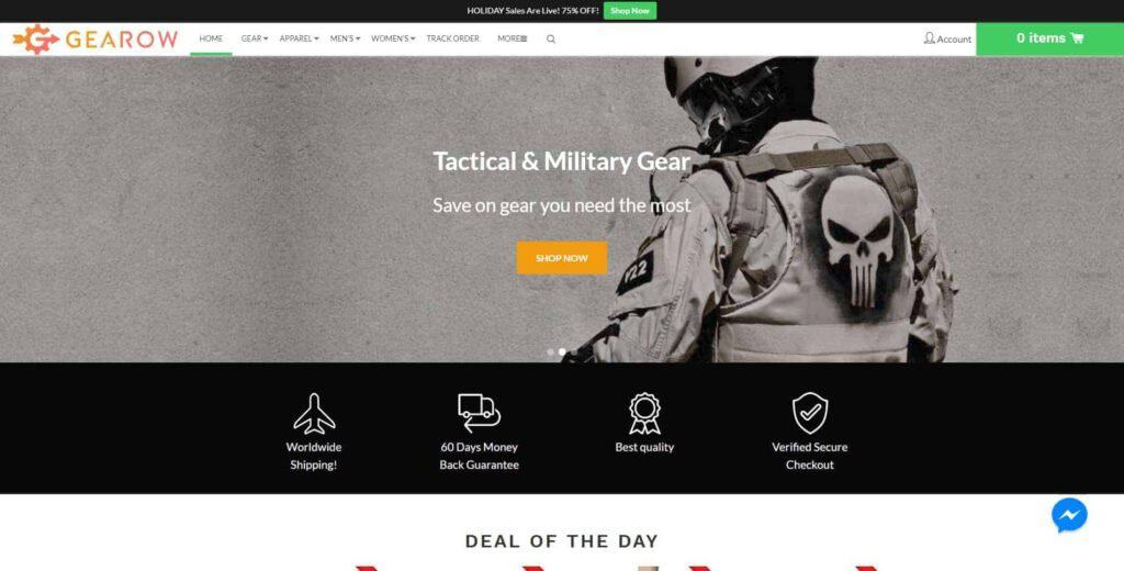The best Shopify dropshipping themes: Konversion demo store