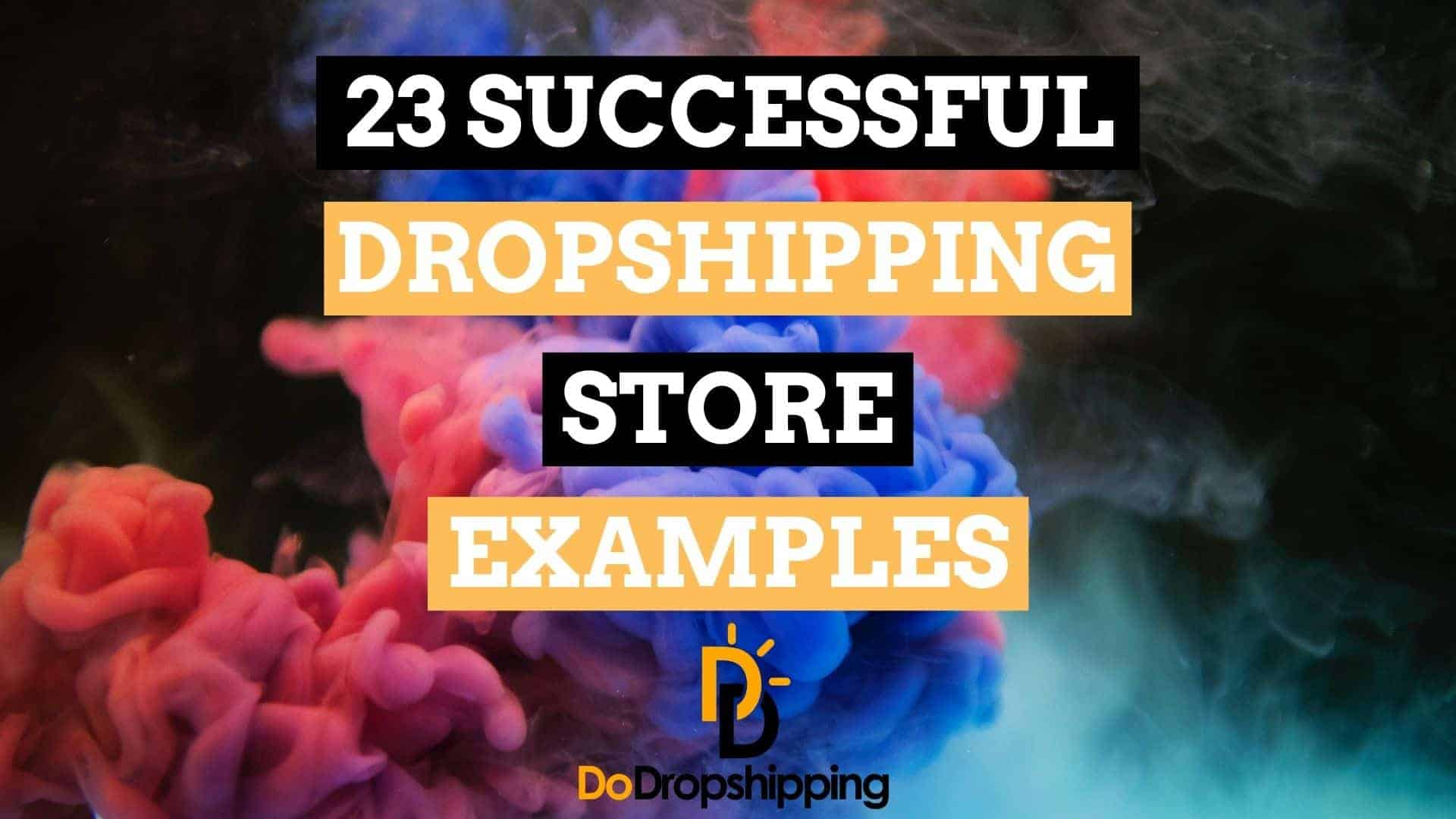 Awesome Shopify Dropshipping Store Examples