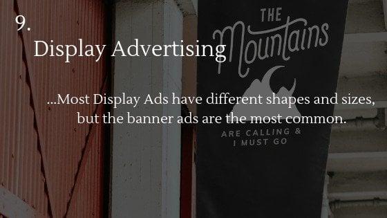 Advertise Dropshipping Store: Display Advertising