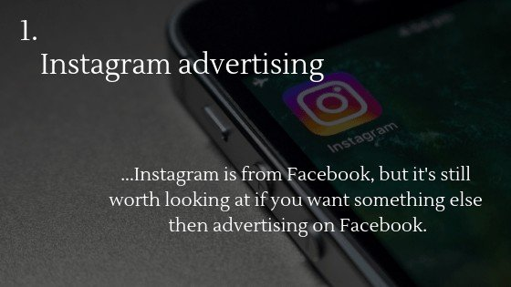 Advertise Dropshipping Store: Instagram advertising