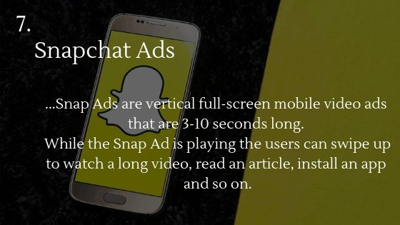 Advertise Dropshipping Store: Snapchat Ads