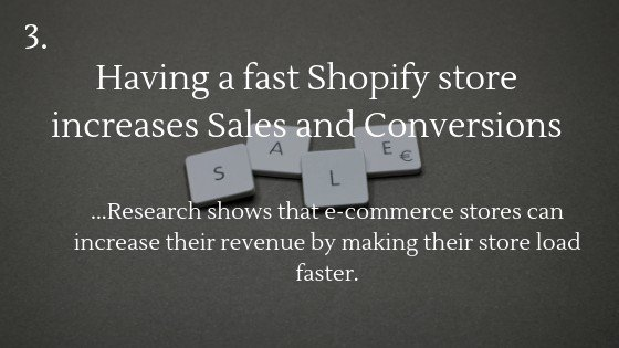 Research shows that e-commerce stores can increase their revenue by making their store load faster