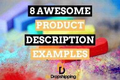 8 awesome product description examples for your dropshipping store