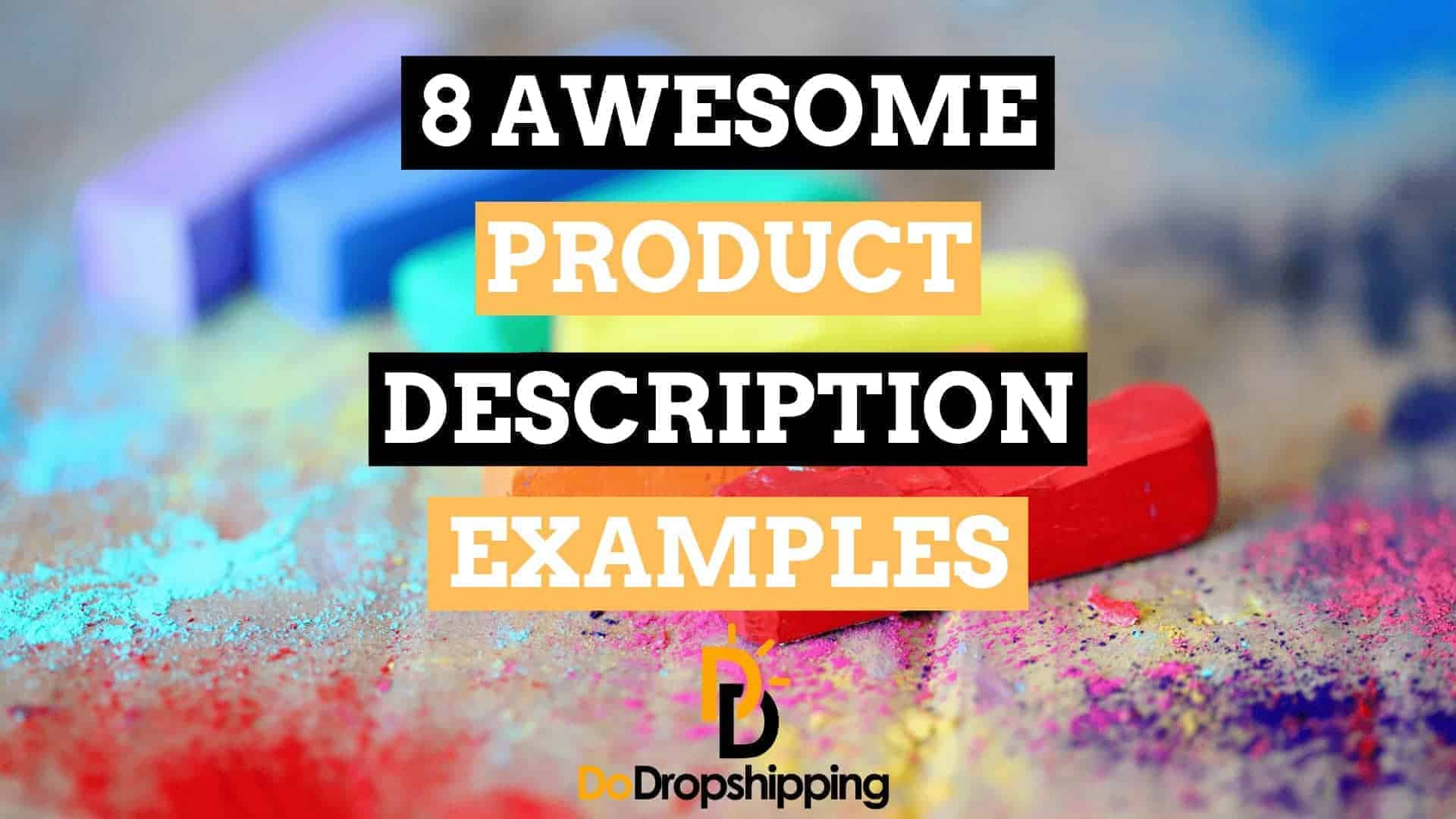8 Awesome Dropshipping Product Description Examples | Inspiration