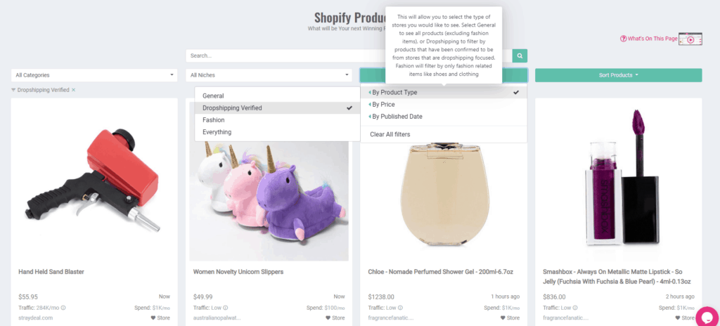 Sell The Trend Review: Shopify Product Explorer. Dropshipping product research tool inside Sell The Trend