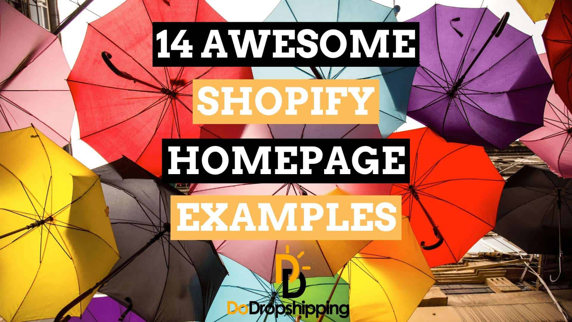 12 Awesome Shopify Homepage Examples in 2019 | To Get Inspiration