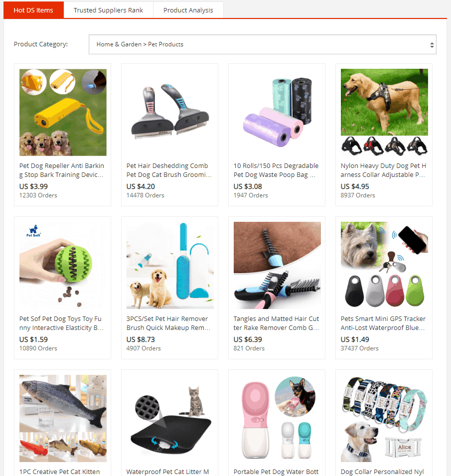 Best Dropshipping Product Research Tools: AliExpress Dropshipping Center