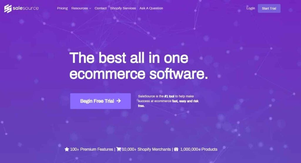 Best Dropshipping Product Research Tools: SaleSource