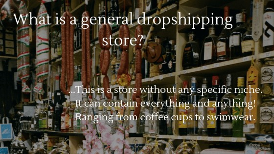 General vs Niche Dropshipping store: What is a General Dropshipping store?
