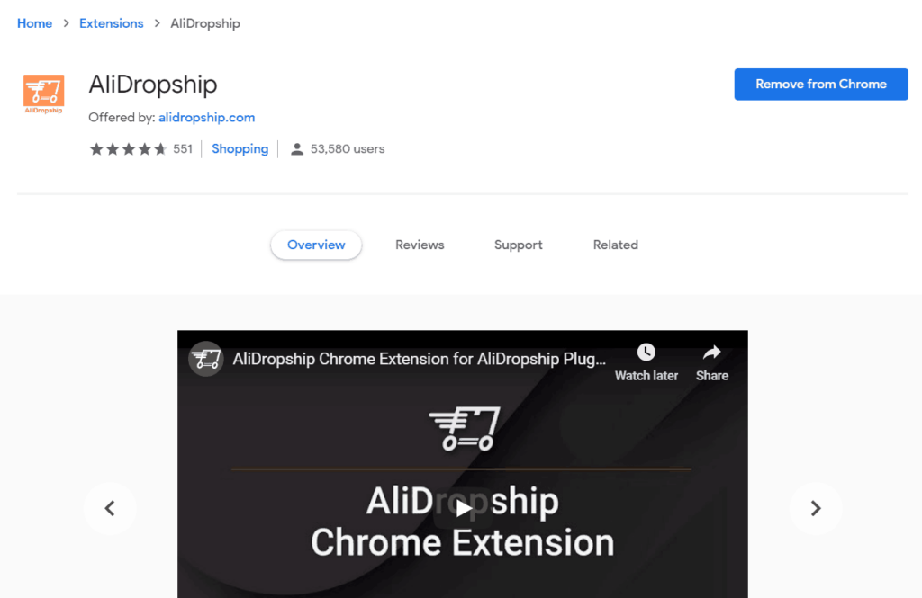 AliDropship Review: AliDropship Chrome Extension
