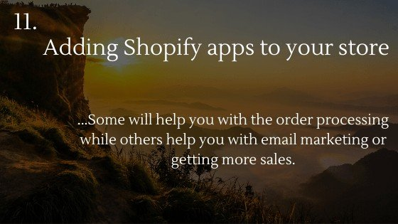 Shopify Dropshipping: Create Your Own Store | Adding Shopify apps to your store