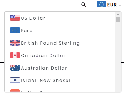 Currency converter exmaple