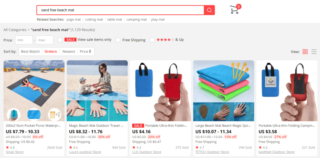 How to Find Dropshipping Products on AliExpress: 1. Finding products on AliExpress yourself