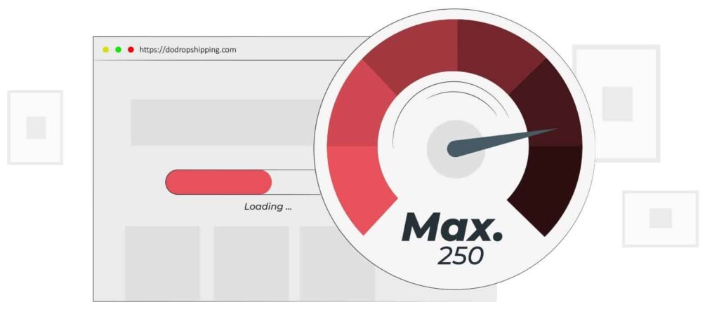 SEO for Dropshipping Stores - Website Speed