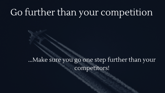 How to Beat the Competition of Your Dropshipping Store | Go further than your competition