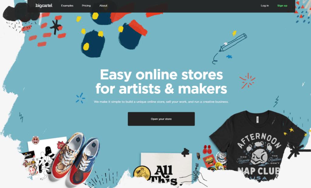 Shopify Alternatives Nr. 11: Big Cartel