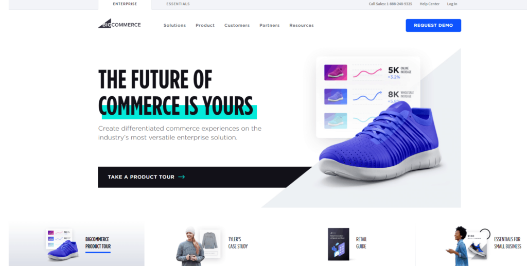 Shopify Alternatives Nr. 3: BigCommerce