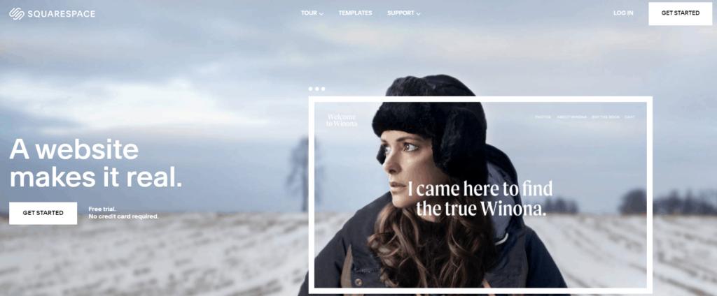 Shopify Alternatives Nr. 8: Squarespace