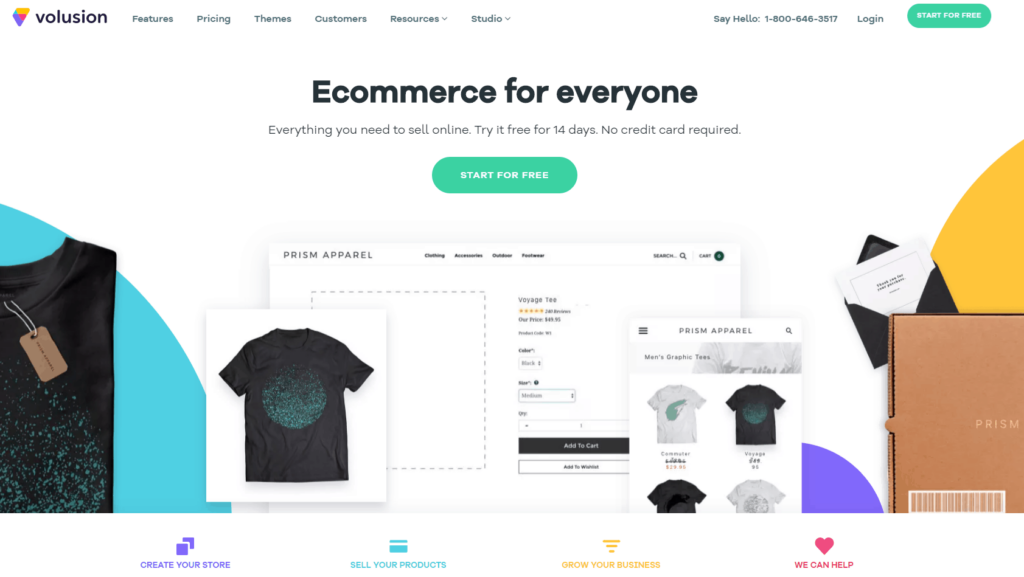 Shopify Alternatives Nr. 4: Volusion
