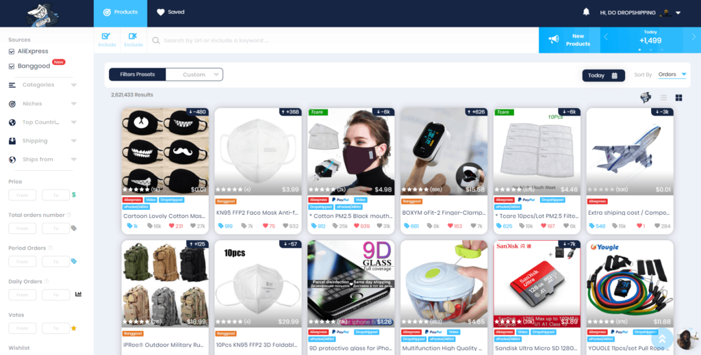 Best Dropshipping Product Research Tools: AliShark