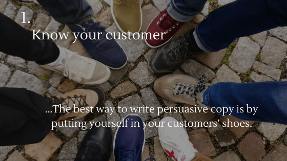 Copywriting for Dropshipping Stores: 1. Know your customers