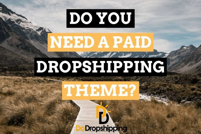 Do You Need a Paid Dropshipping Theme? or Is a Free Theme Ok in 2021?