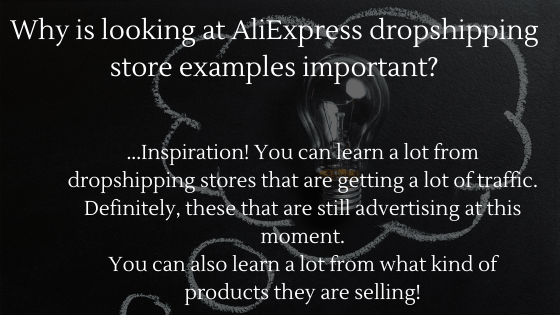 Find out why looking at AliExpress Dropshipping store examples is important in 2021!