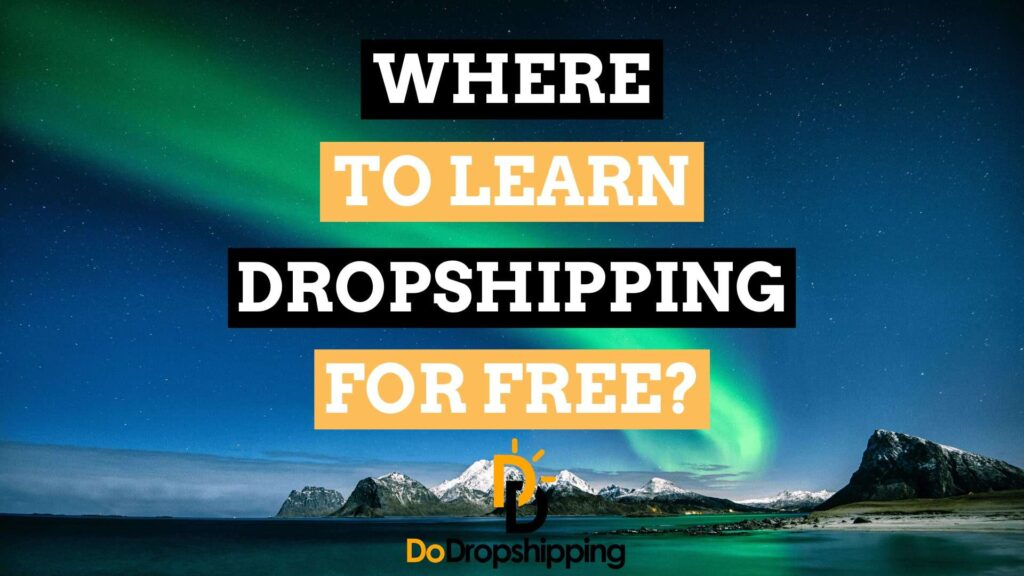 Dropshipping for Beginners: Where to learn Dropshipping and ecommerce for free in 2020?