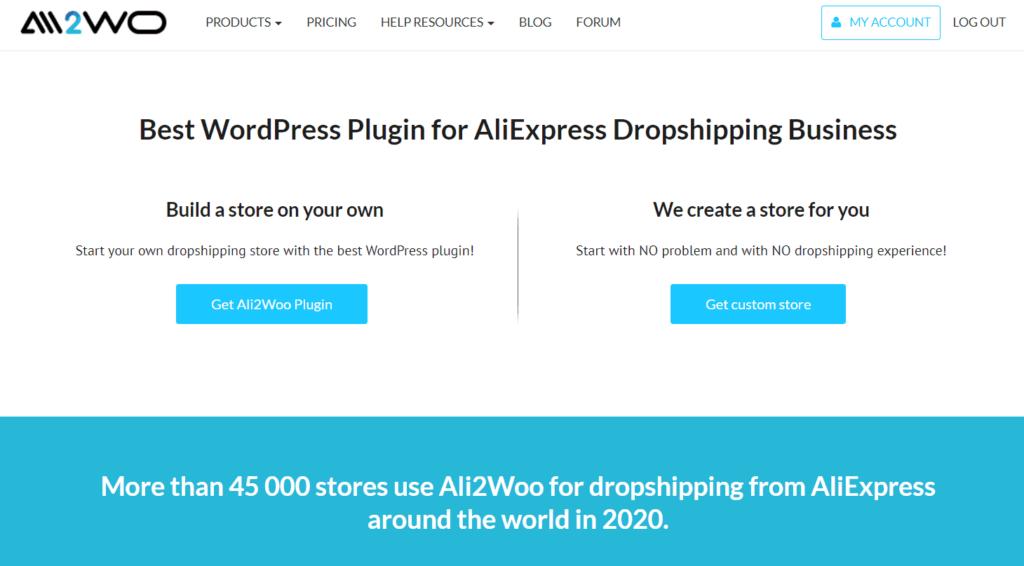 WooCommerce AliExpress Dropshipping Plugins: Ali2Woo