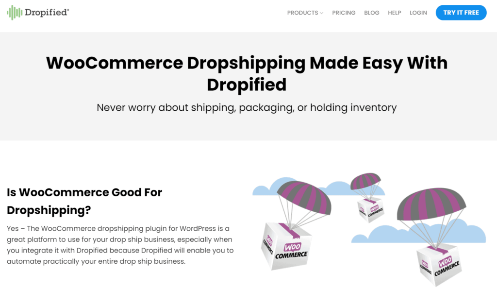 WooCommerce Plugins Multiple Dropshipping Suppliers: Dropified