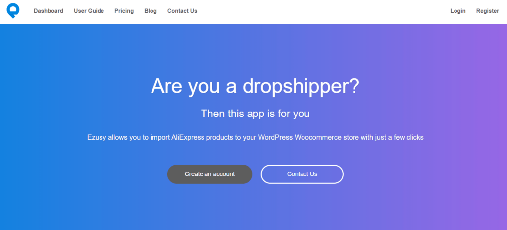 WooCommerce AliExpress Dropshipping Plugins: Ezusy