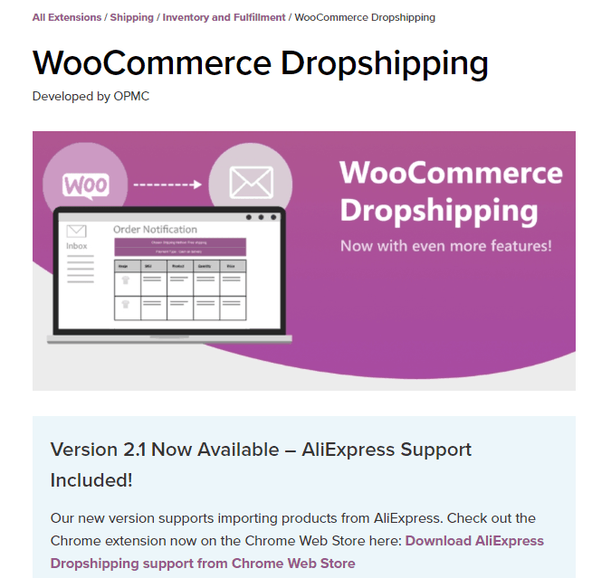 WooCommerce Plugins Multiple Dropshipping Suppliers: WooCommerce Dropshipping plugin