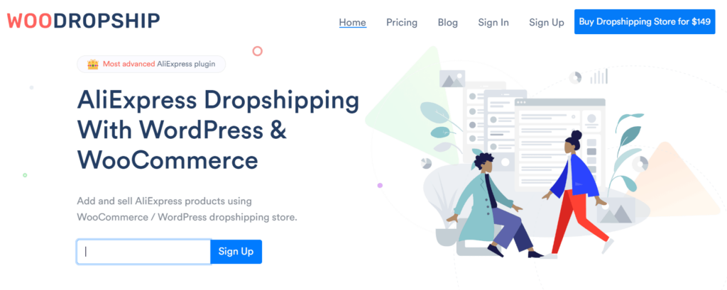 WooCommerce AliExpress Dropshipping Plugins: WooDropship