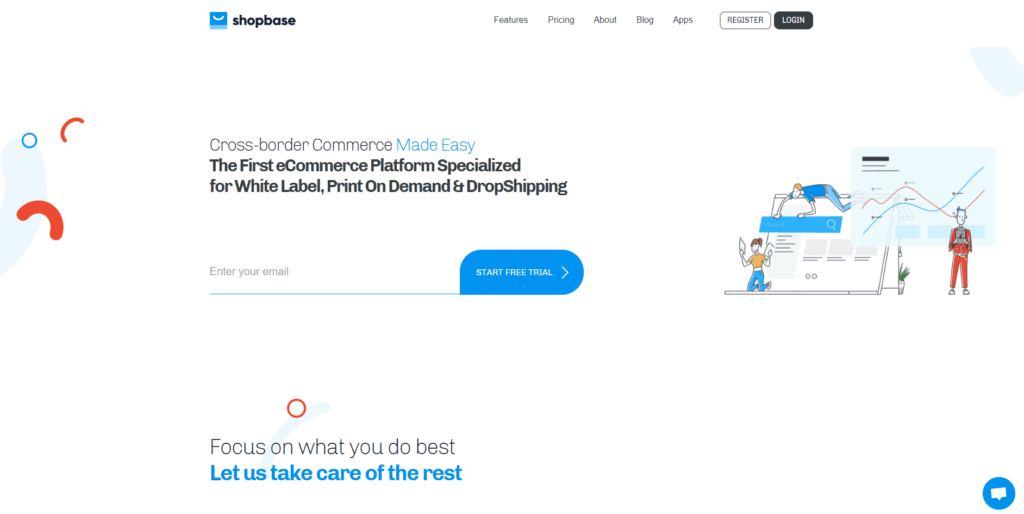 ShopBase homepage