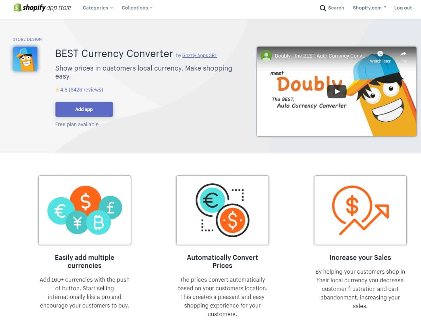 Best Shopify App For Dropshipping Beginners: Currency Converter Doubly