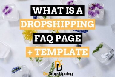 What Is a Dropshipping FAQ Page? I also include a Dropshipping FAQ page template for 2021