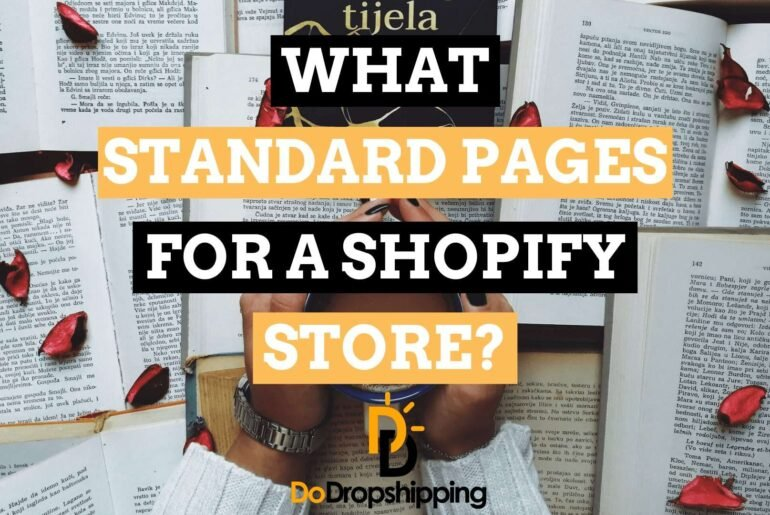 10 Standard Pages for a Shopify Store & How to Create Them