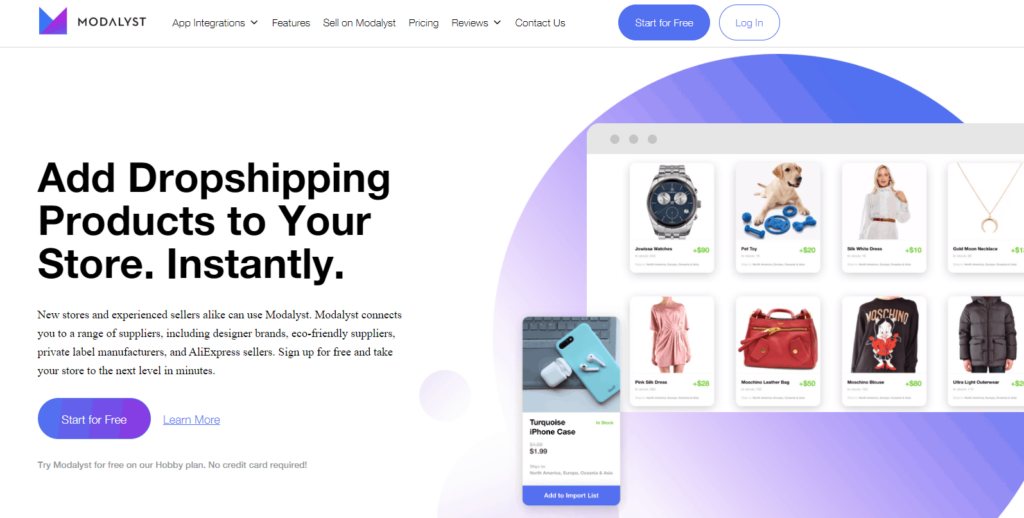 Dropshipping with AliExpress Alternatives: Modalyst