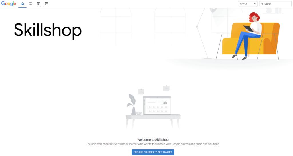 Free Ecommerce Courses: Google Skillshop
