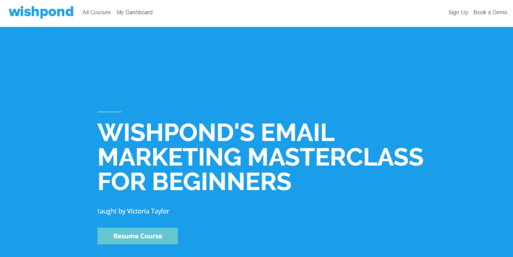 Free Ecommerce Courses: Wishpond's email marketing masterclass