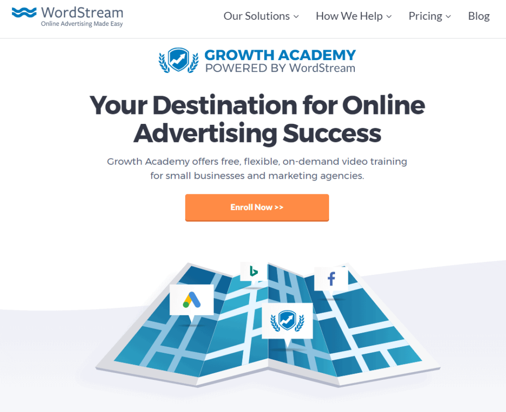 Free Ecommerce Courses: WordStream's growth academy