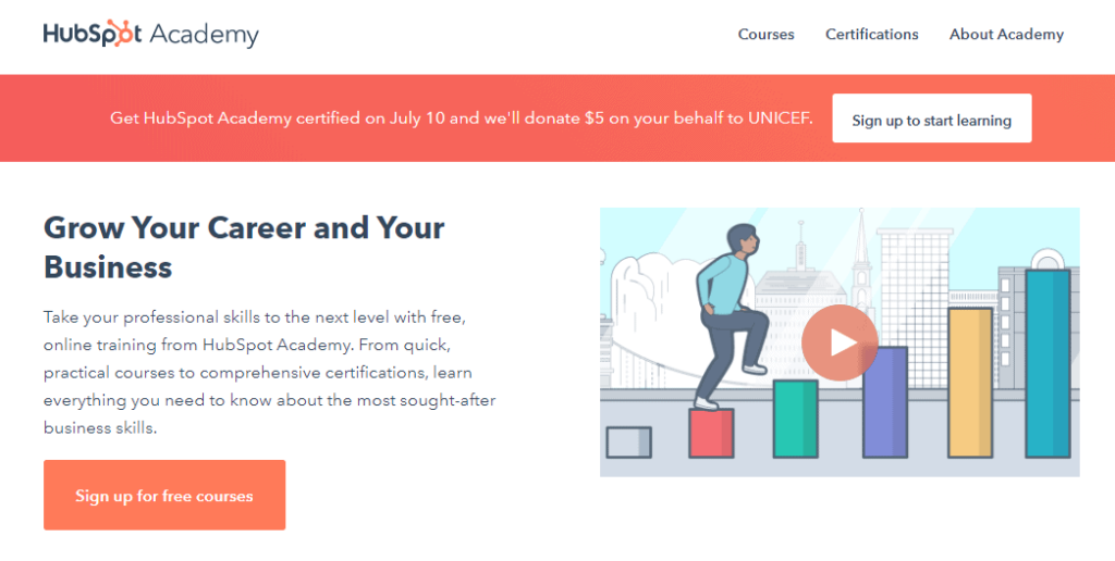 Free Ecommerce Courses: Hubspot Academy