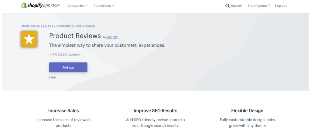 The best Shopify product review apps in 2020: Product reviews by Shopify
