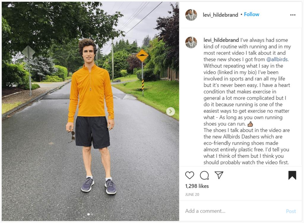 allbirds instagram shoutout examples